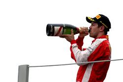 Подиум: третье место - Себастьян Феттель, Scuderia Ferrari