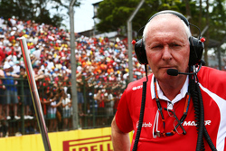 John Booth, Manor Marussia F1 Team Team Principal on the grid