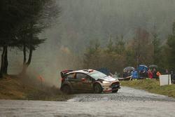 Robert Kubica y Maciek Szczepaniak, Ford Fiesta WRC