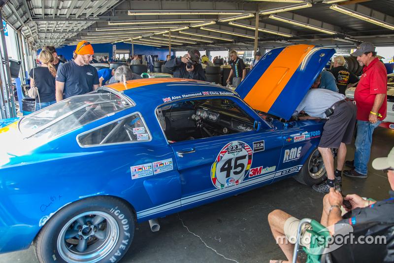 Historischer Ford Mustang