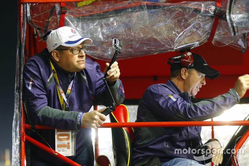Gast bei Jamie McMurray, Chip Ganassi Racing Chevrolet