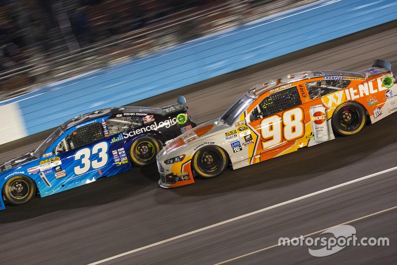 Ryan Ellis and Ryan Preece, Premium Motorsports Ford