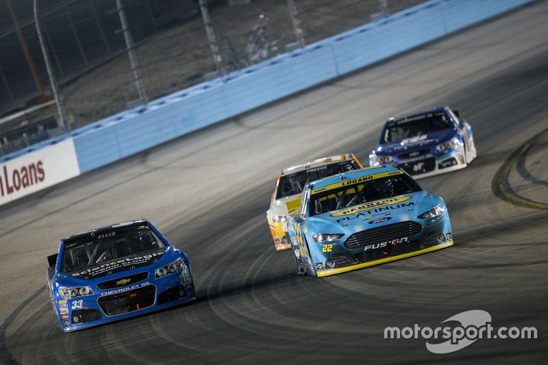 Ryan Ellis and Joey Logano, Team Penske Ford