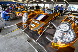 Michael Shank Racing team area
