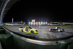 John Hunter Nemechek, NEMCO Motorsports and Matt Crafton, Thorsport Racing