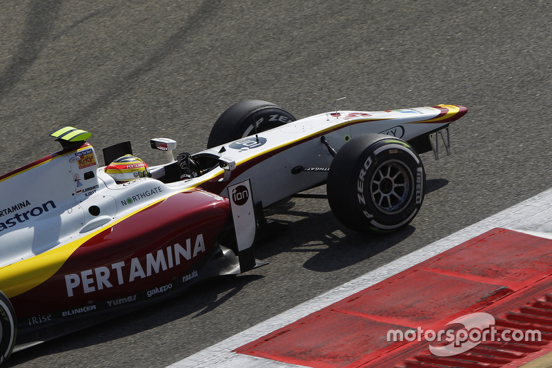 Rio Haryanto, Campos Racing returns to the pits without a front wing