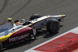 Rio Haryanto, Campos Racing keert terug naar de pitstraat zonder voorvleugel