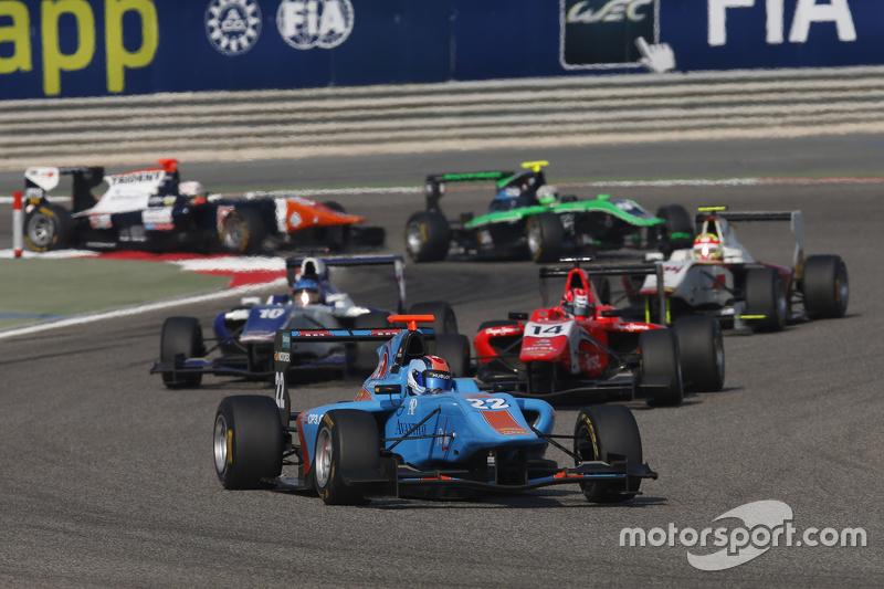Ralph Boschung, Jenzer Motorsport leads Kevin Ceccon, Arden International