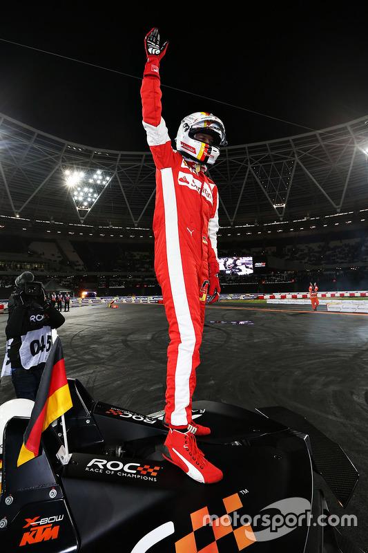 Winnaar Sebastian Vettel