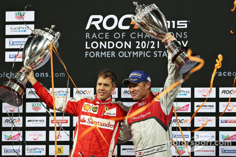 1. Sebastian Vettel, 2. Tom Kristensen