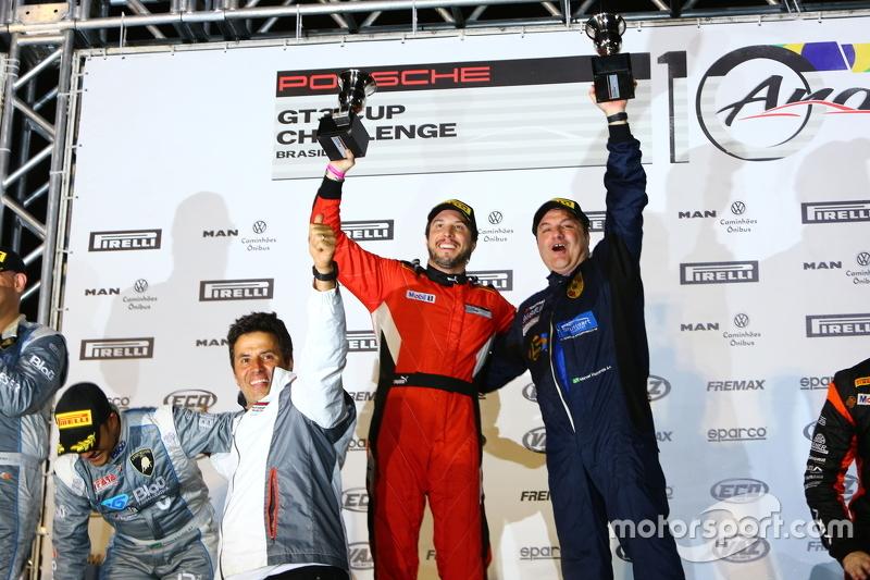 Pódio da Porsche 300 Cup