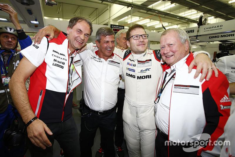 Dr. Oliver Blume, Fritz Enzinger, Andreas Seidl, Dr. Wolfgang Porsche