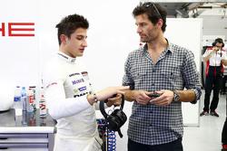 Mitch Evans et Mark Webber, Porsche Team
