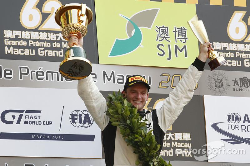 Podium: 1. Maro Engel, Mercedes AMG Driving Academy