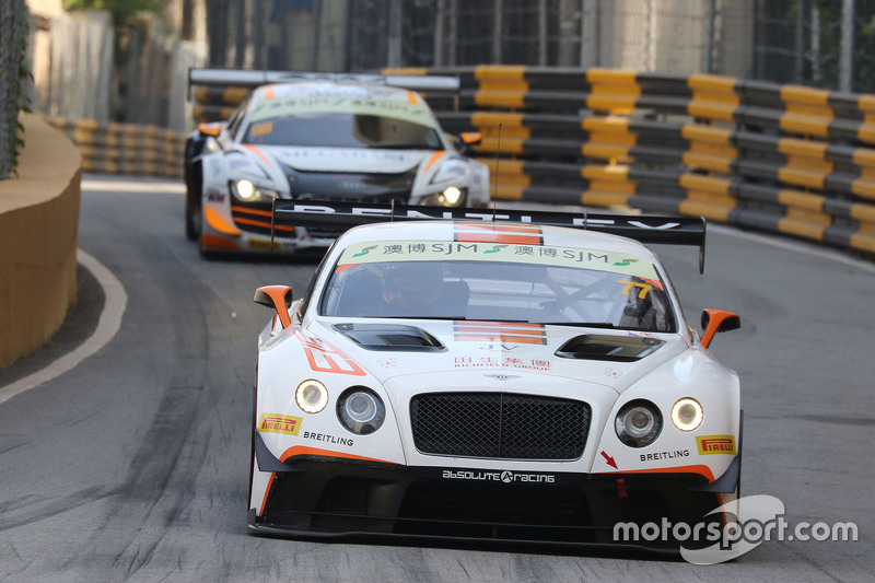 Jacky Yeung, Bentley Team Absolute, Bentley Continental GT3