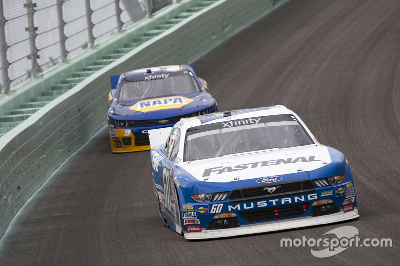 Кріс Бюшер, Roush Fenway Racing Ford та Чейз Елліот, JR Motorsports Chevrolet