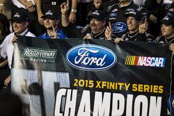 NASCAR XFINITY Series 2015 champion Кріс Бюшер, Roush Fenway Racing Ford