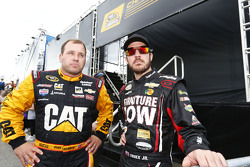 Ryan Newman, Richard Childress Racing Chevrolet; Martin Truex Jr., Furniture Row Racing Chevrolet