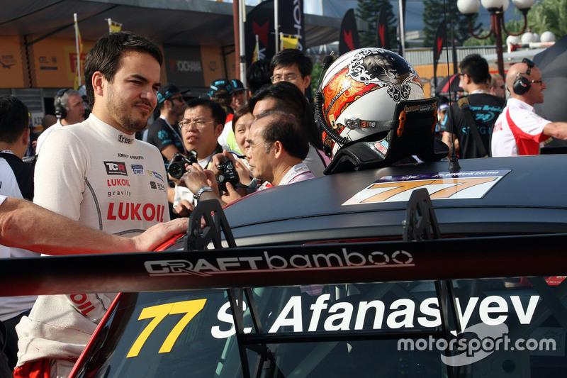 Sergey Afanasyev, SEAT Leon, Team Craft-Bamboo LUKOIL