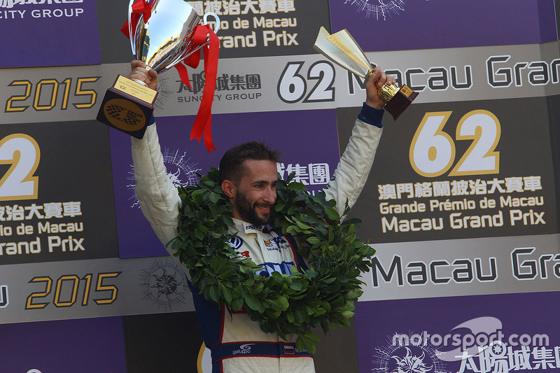 Podium: third place Mikhail Grachev, Volkswagen Golf TCR, Team Engstler