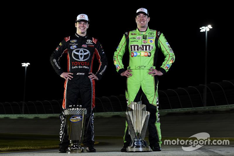 1. NASCAR Sprint-Cup Kyle Busch und 1. NASCAR Truck Erik Jones