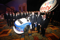 2015 Xfinity Series campeón Chris Buescher con Roush Fenway Racing team