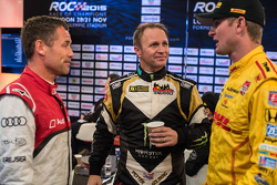 Tom Kristensen, Petter Solberg y Ryan Hunter-Reay