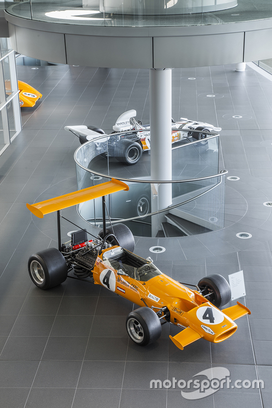 McLaren klasik di Technology Center