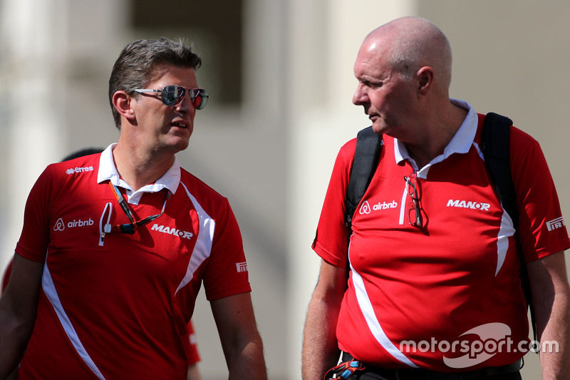 Грэм Лоудон, руководитель команды Manor F1 Team