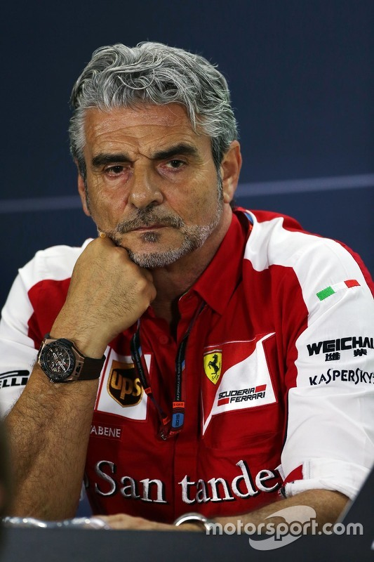 Мауріціо Аррівабене, Керівник Scuderia Ferrari на пресс-конференції FIA
