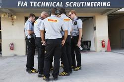 Инженеры Pirelli