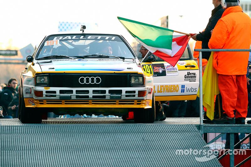 Salvatore Riolo und Alessandro Floris, Audi Quattro A2