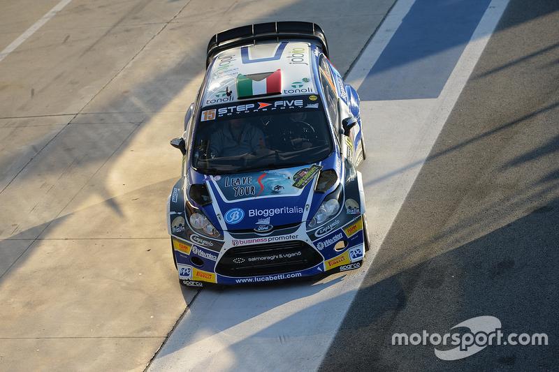 Luca Betti und Selvaggia Lucarelli, Ford Fiesta