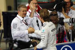 Nico Rosberg, Mercedes AMG F1 Team; Thomas Weber, Daimler AG