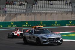 Esteban Ocon, ART Grand Prix y el auto de seguridad