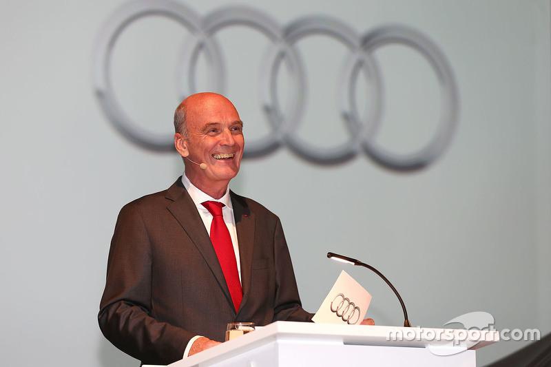 Dr. Wolfgang Ullrich, Leiter Audi Sport