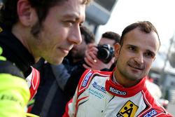 Vitantonio Liuzzi und Valentino Rossi