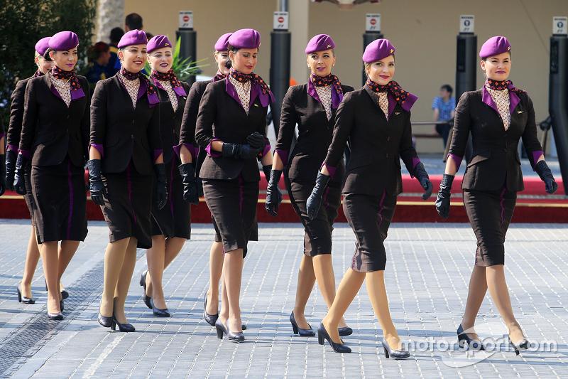 Chicas de la parrilla GP de Abu Dhabi