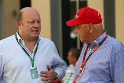 Niki Lauda, Mercedes voorzitter
