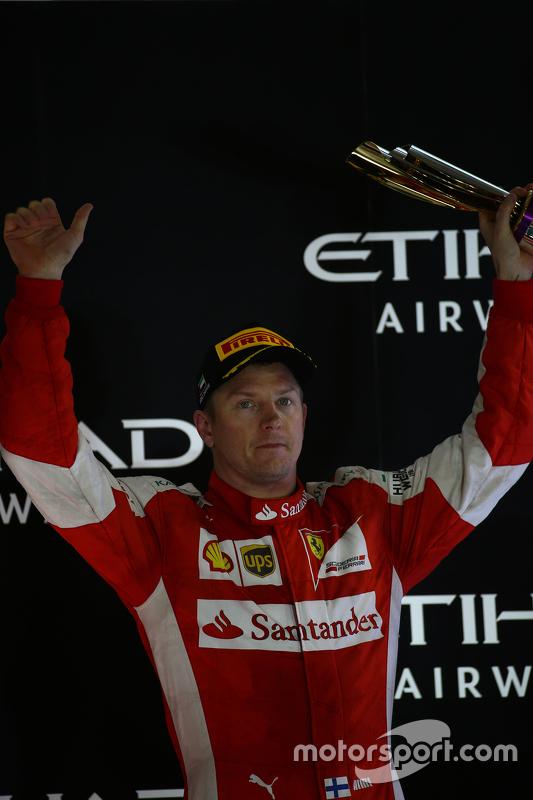 Derde Kimi Raikkonen, Ferrari SF15-T