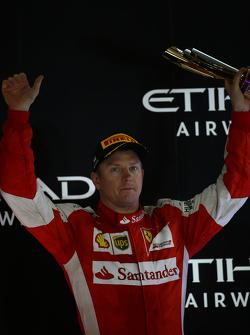 Terzo Kimi Raikkonen, Ferrari SF15-T