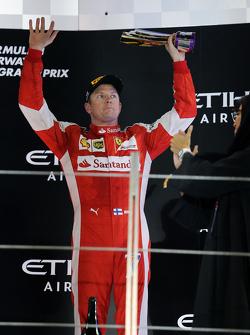 Le troisième, Kimi Raikkonen, Ferrari