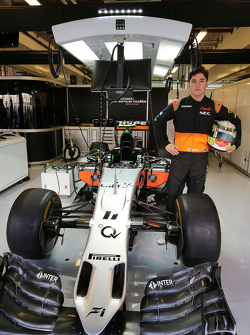 Alfonso Celis Jr., Sahara Force India F1 Team Development Driver