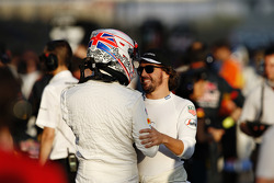 Jenson Button y Fernando Alonso, McLaren MP4-30