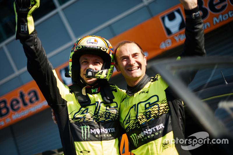 Sieger: Valentino Rossi und Carlo Cassina, Ford Fiesta