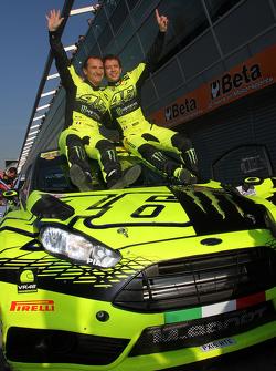 Переможці Валентіно Россі та Carlo Cassina, Ford Fiesta