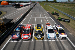 Peugeot, Ford, Audi, Volkswagen sont représentées en World RX