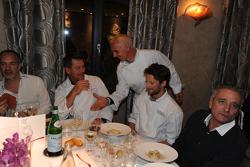 Pascal Olmeta et Romain Grosjean