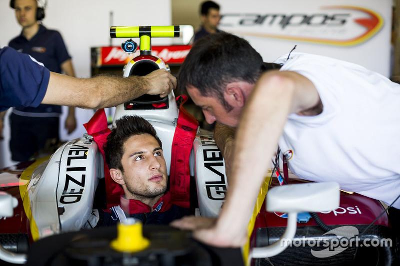 Мітч Еванс, Campos Racing