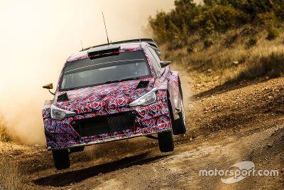 2016 现代 i20 WRC测试